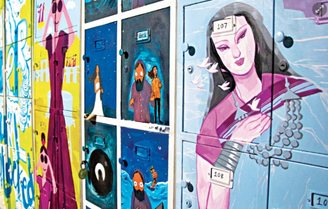 12 Bengali and German folk tales on Goethe lockers